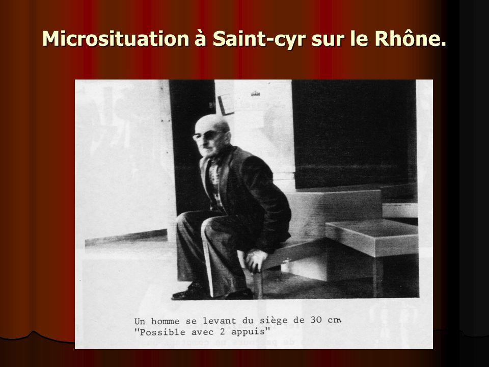 Microsituation à Saint-cyr sur le Rhône.