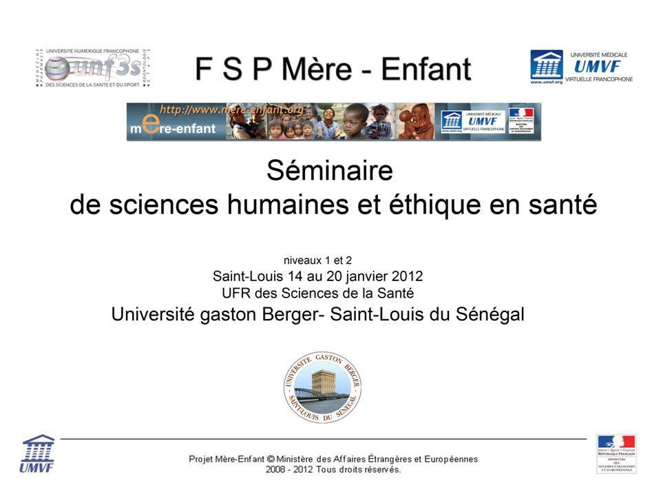 Dimensions sociales du métier de médecin en contexte (suite) Pr I. Diagne UFR2S- UGB – St-Louis
