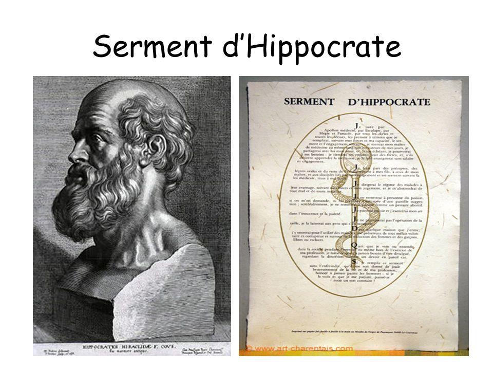Serment dHippocrate