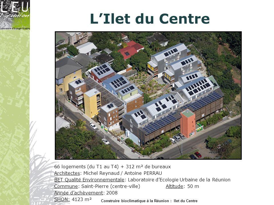 LIlet du Centre AVANT PROJET Construire bioclimatique à la Réunion : Ilet du Centre