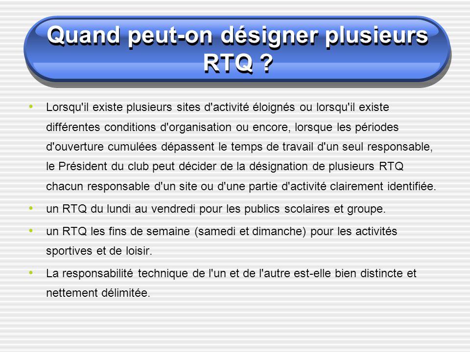 Le RTQ peut-il être bénévole .