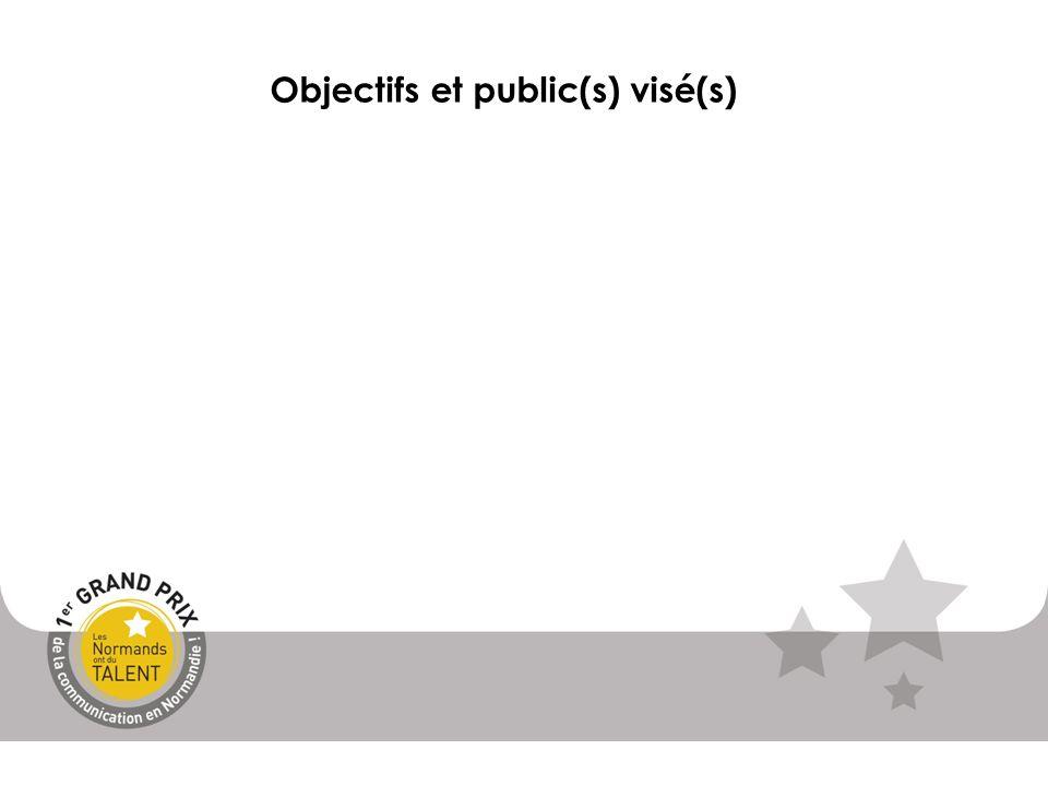 Objectifs et public(s) visé(s)