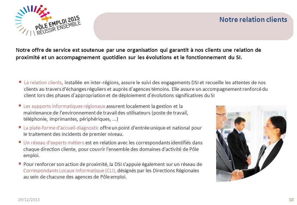 Les supports informatiques régionaux assurent localement la gestion et la maintenance de lenvironnement de travail des utilisateurs (poste de travail,