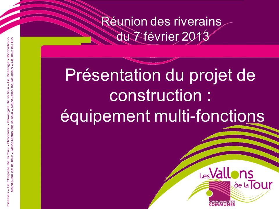 Sommaire de la présentation 1 Plan de situation 2 Déconstruction de MONBOX 3 Projet de construction 4 Questions-Réponses