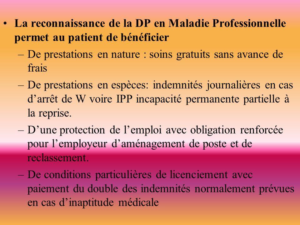- le travailleur doit faire une déclaration auprès de la CPAM de son domicile en joignant deux exemplaires du certificat médical initial dans un délai