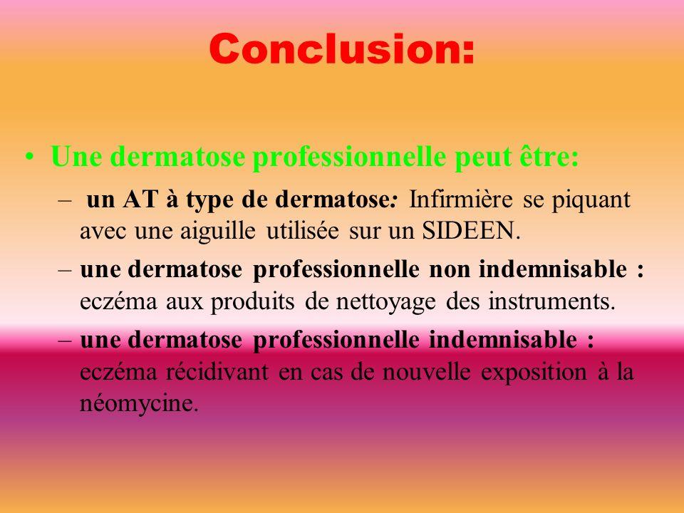 critères distinctifs dermites d'irritation 80% eczémas de contact allergiques 20% Tests épicutanés Négatifs; des faux positifs de nature irritative pe
