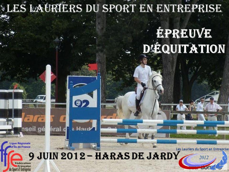 Épreuve déquitation 9 JUIN 2012 – Haras de jardy Les Lauriers du Sport en Entreprise