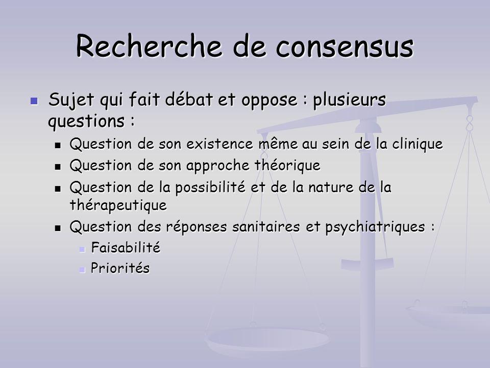 Recherche de consensus Sujet qui fait débat et oppose : plusieurs questions : Sujet qui fait débat et oppose : plusieurs questions : Question de son e