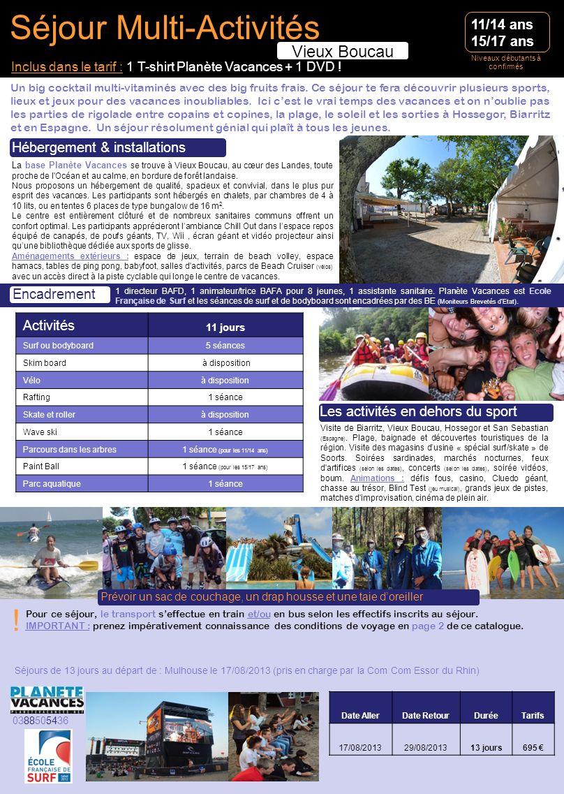 Lassociation Planète Loisirs & Vacances est assurée en Responsabilité Civile à la MAIF sous le numéro de sociétaire n° 2404689 D.