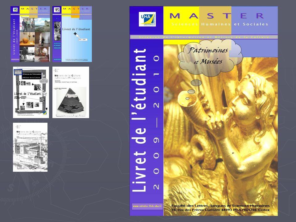 Lorganisation de vos études Ressources DOKEOS https://www.e-formation.uha.fr/serfa/ DOKEOS https://www.e-formation.uha.fr/serfa/https://www.e-formation.uha.fr/serfa/ Supports de cours, documentation Site Web du département : Intranet http://www.infodoc.flsh.uha.fr/web/presentation/t out.php Mdp : mdp0910 Site Web du département : Intranet http://www.infodoc.flsh.uha.fr/web/presentation/t out.php Mdp : mdp0910 http://www.infodoc.flsh.uha.fr/web/presentation/t out.php http://www.infodoc.flsh.uha.fr/web/presentation/t out.php - Documents pour la recherche du stage, la rédaction du mémoire - Emploi du temps, planning