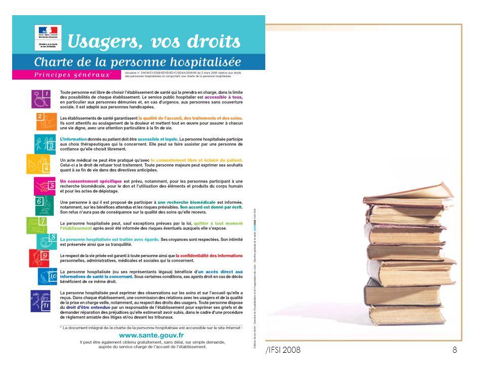 JCC/DRH-Formation/IFSI 200829 3.1.1 Le livret d accueil Art.