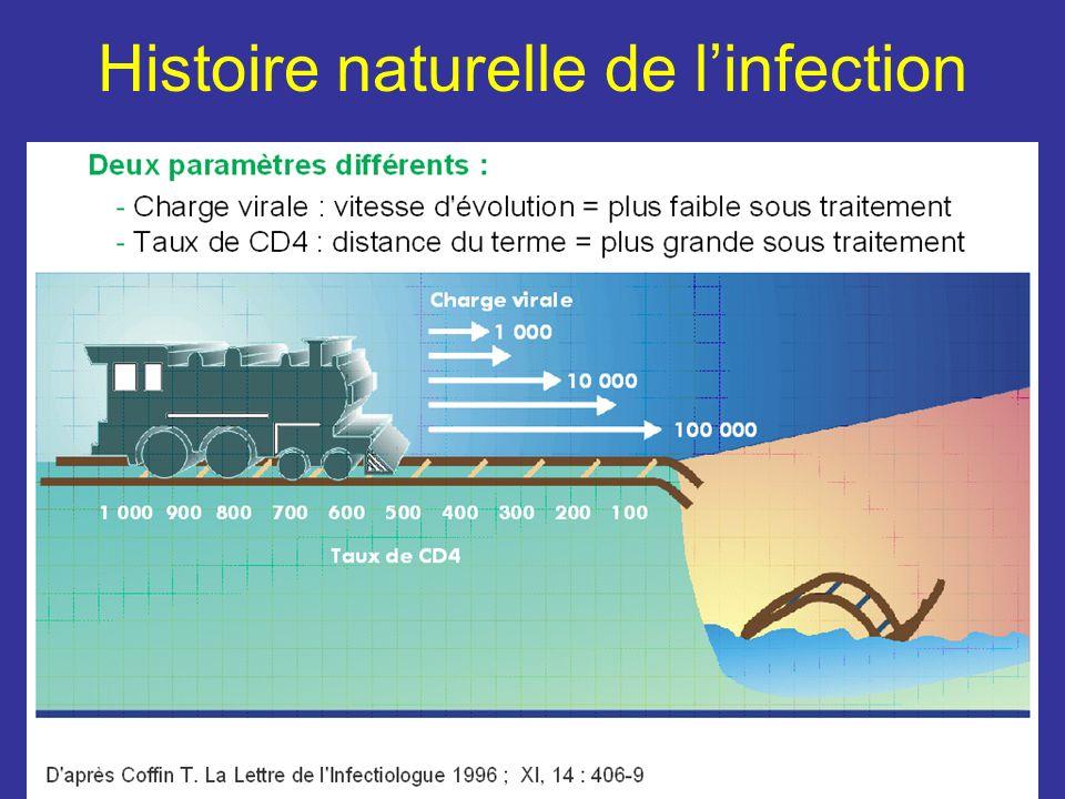 Histoire naturelle de linfection