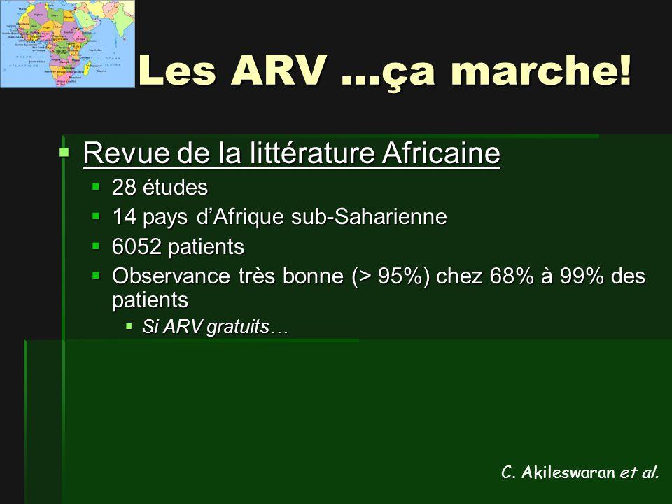 Les ARV …ça marche.