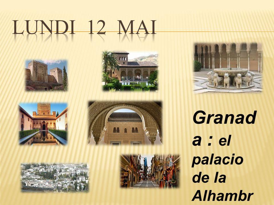 Granad a : el palacio de la Alhambr a y el barrio Albaicin