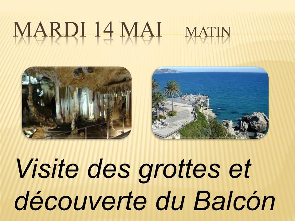 Visite des grottes et découverte du Balcón de Europa de Nerja