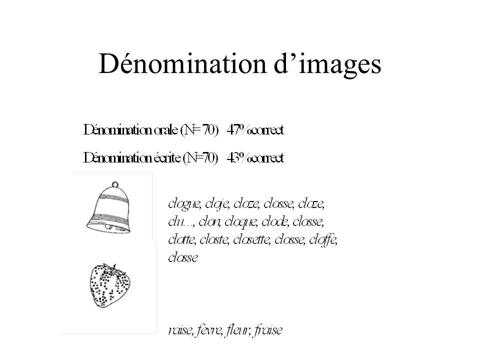 Dénomination dimages