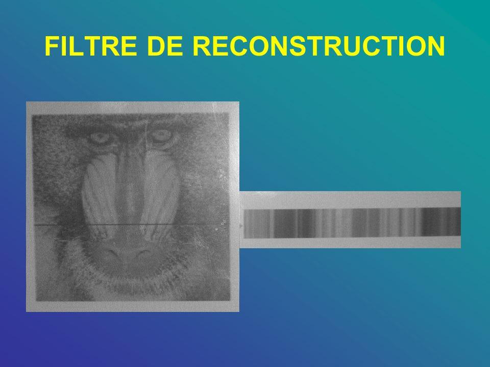 FILTRE DE RECONSTRUCTION