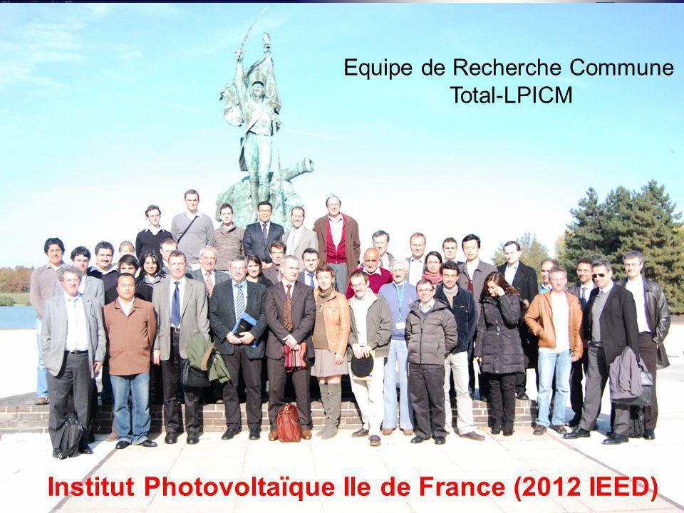 15 Journée Nouveaux entrants CNRS-INSIS, Paris, le 22 mai 2012, Témoignage Pere Roca i Cabarrocas Equipe de Recherche Commune Total-LPICM Institut Pho
