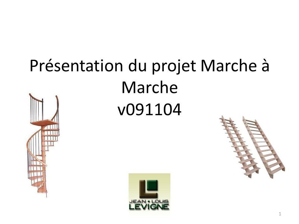 Présentation du projet Marche à Marche v091104 1