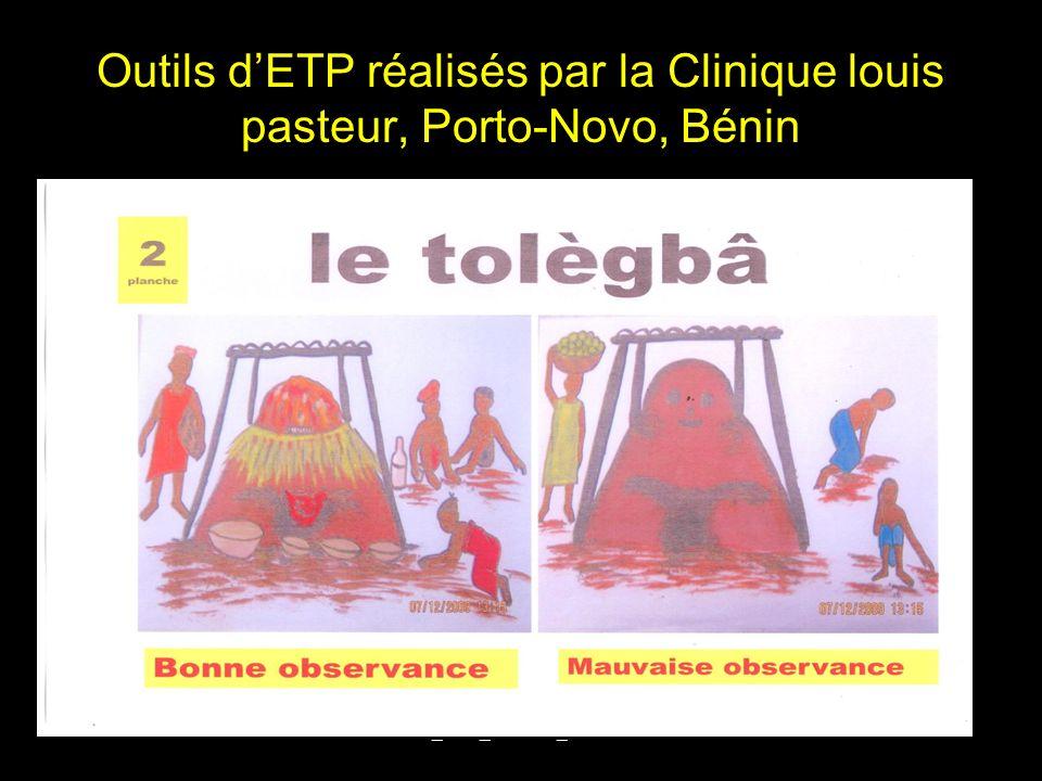 Outils dETP réalisés par la Clinique louis pasteur, Porto-Novo, Bénin DIU_VIH_Burundi_Juin 201323