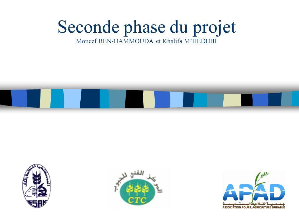 Seconde phase du projet Moncef BEN-HAMMOUDA et Khalifa MHEDHBI