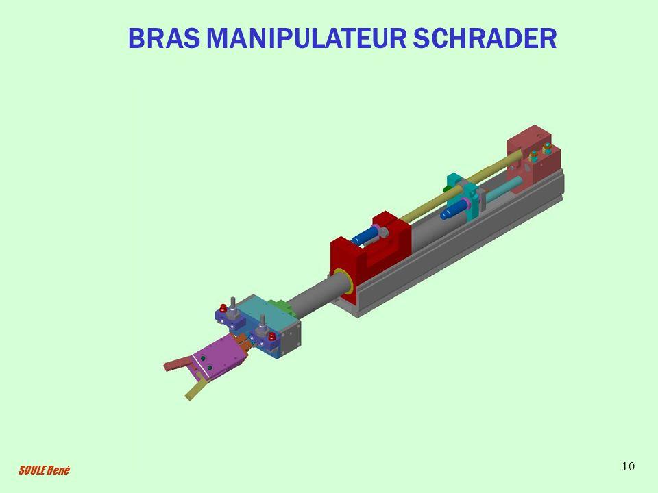 SOULE René 10 BRAS MANIPULATEUR SCHRADER