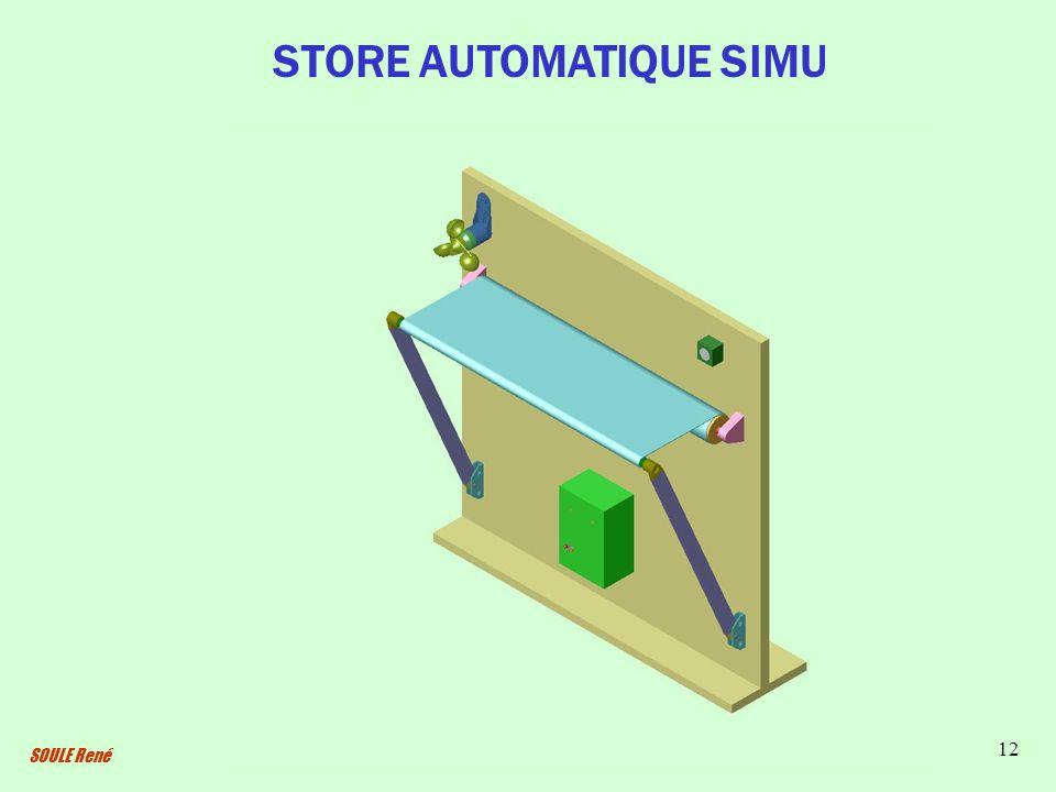 SOULE René 12 STORE AUTOMATIQUE SIMU