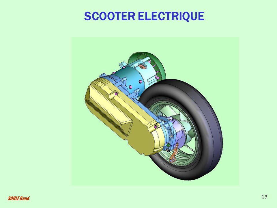 SOULE René 15 SCOOTER ELECTRIQUE