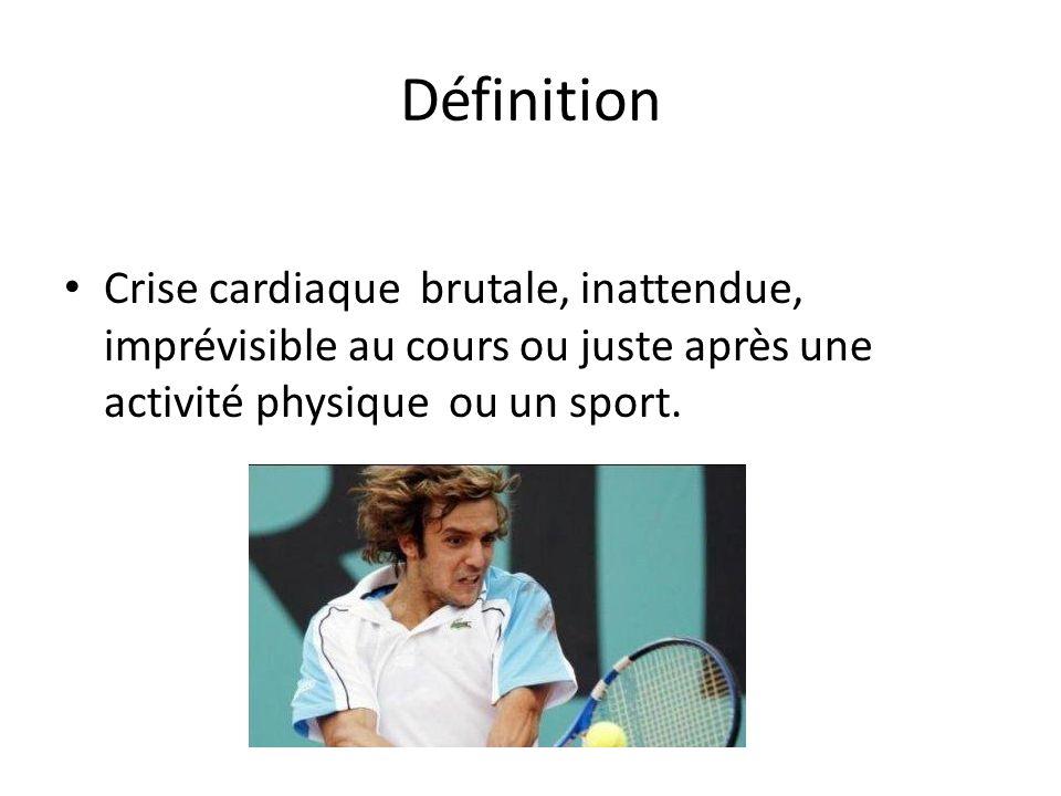 Fréquence En France 50 000 cas par an dont 500 à 1500 cas chez les sportifs.