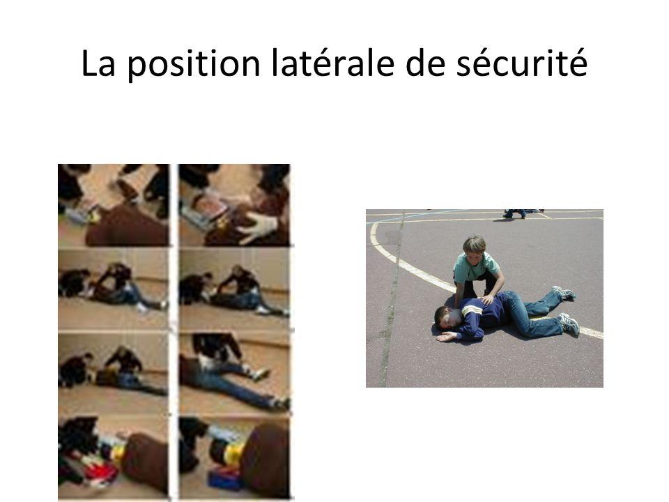 La position latérale de sécurité
