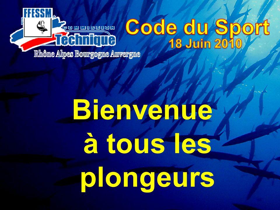 Bienvenue à tous les plongeurs