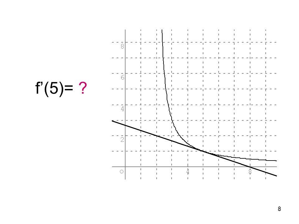 19 f(x)= f(9)= f(x)= f(9)=