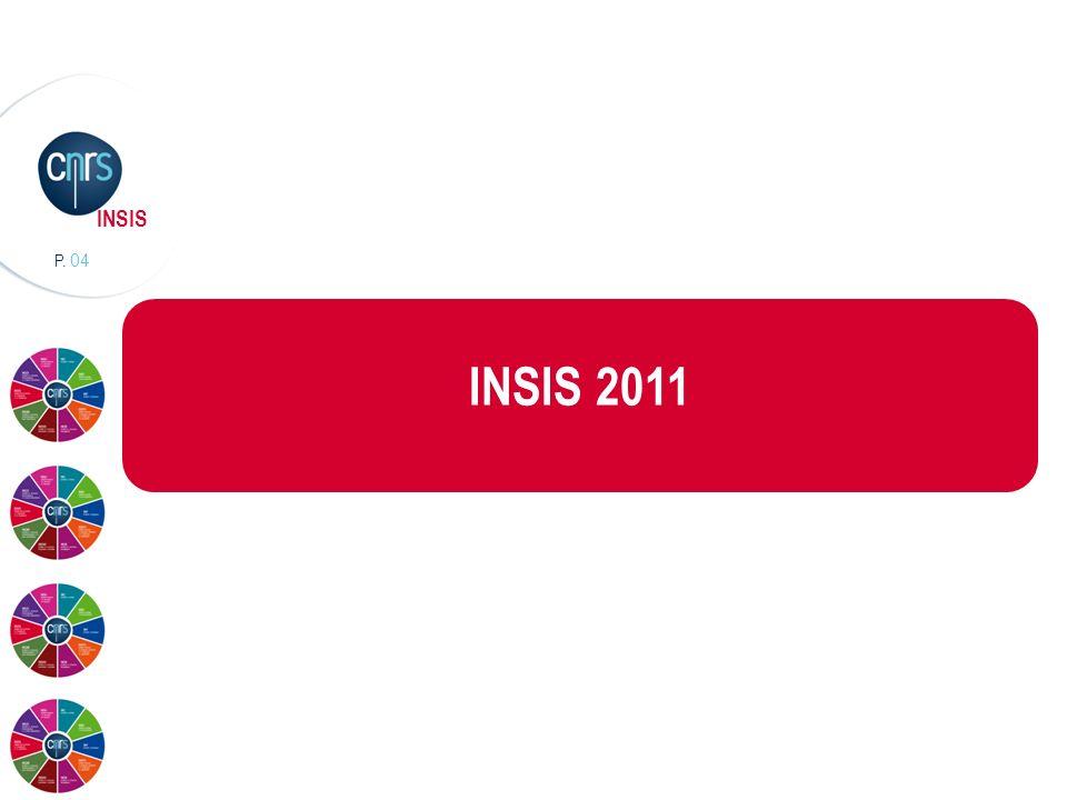 P. 04 INSIS INSIS 2011