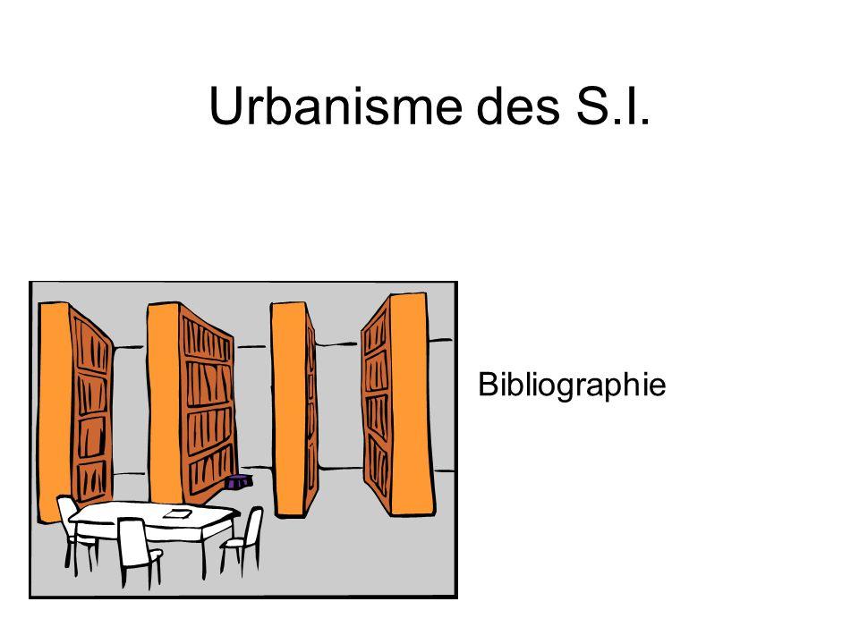 Urbanisme des S.I. Bibliographie