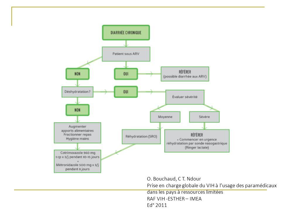O. Bouchaud, C T. Ndour Prise en charge globale du VIH à lusage des paramédicaux dans les pays à ressources limitées RAF VIH -ESTHER – IMEA Ed° 2011