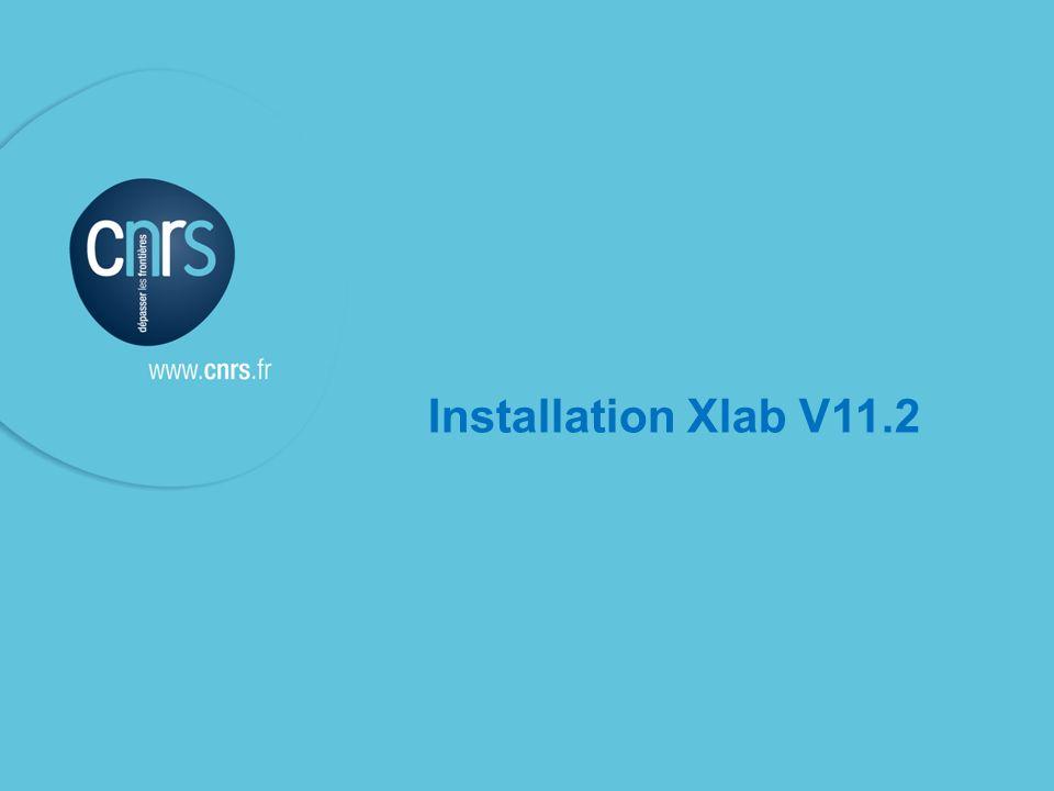 Bascule Xlab V11.2 Ne pas installer la V11.2 dXlab sans avoir le feu vert du Service Financier et Comptable de la délégation Linstallation de la V11.2 dXlab va entrainer automatiquement la bascule dexercice