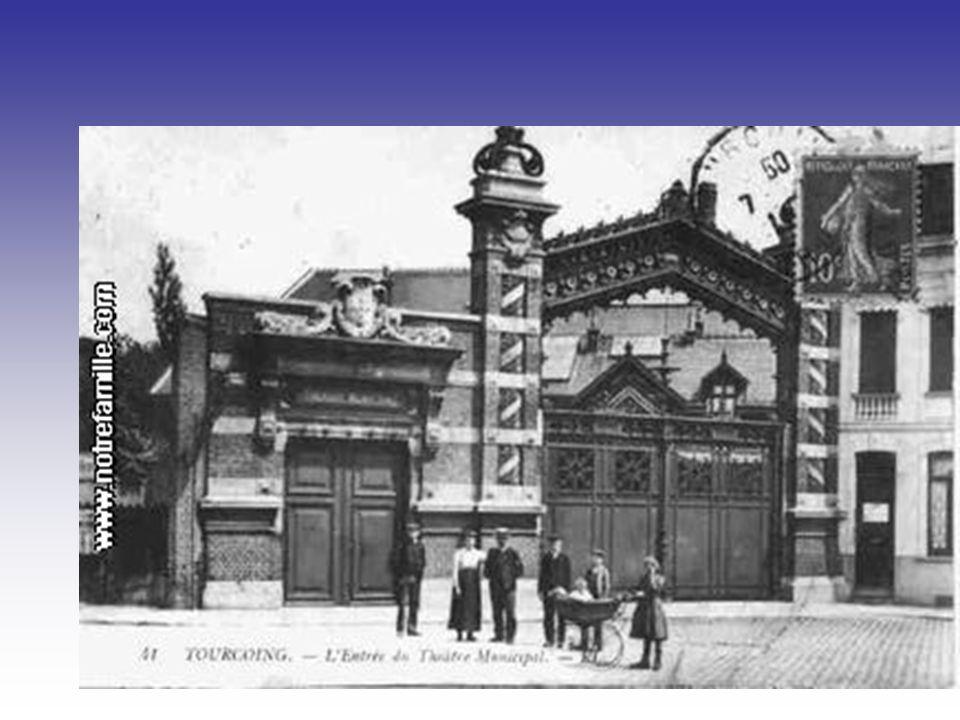 Le gymnase municipal, rue de Gand