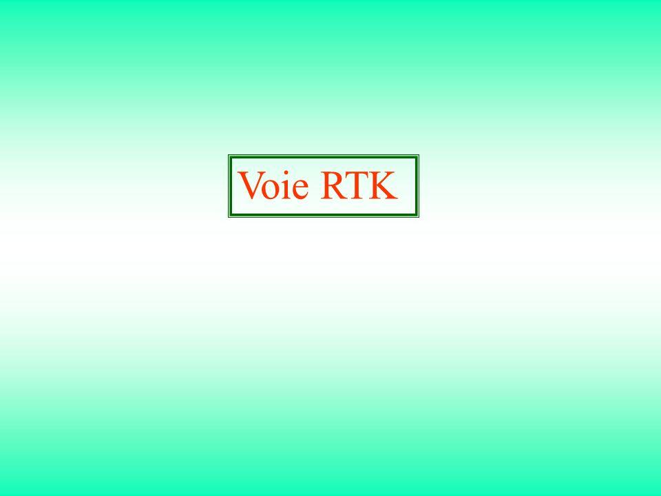 Voie RTK
