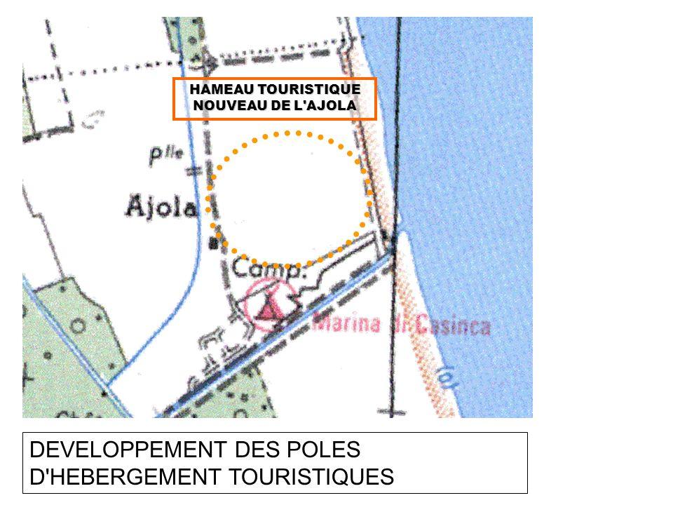DEVELOPPEMENT DES POLES D'HEBERGEMENT TOURISTIQUES HAMEAU TOURISTIQUE NOUVEAU DE L'AJOLA