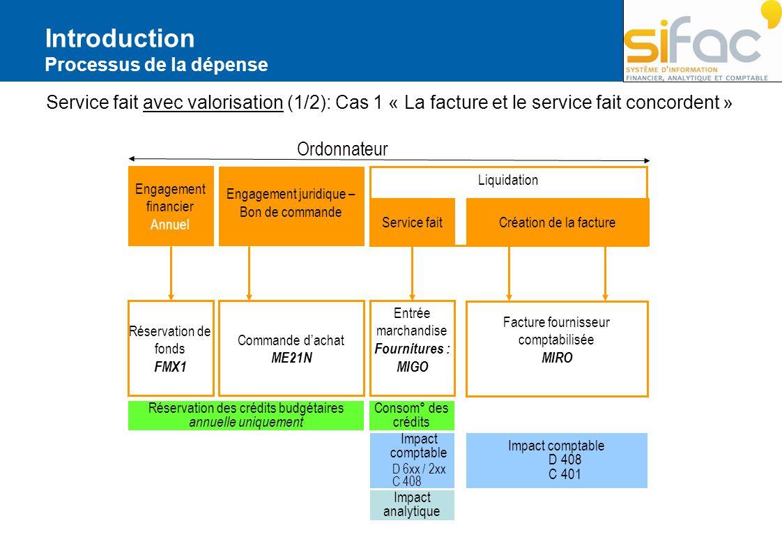 Exercice Exercice 11 Saisie dune facture en liquidation directe