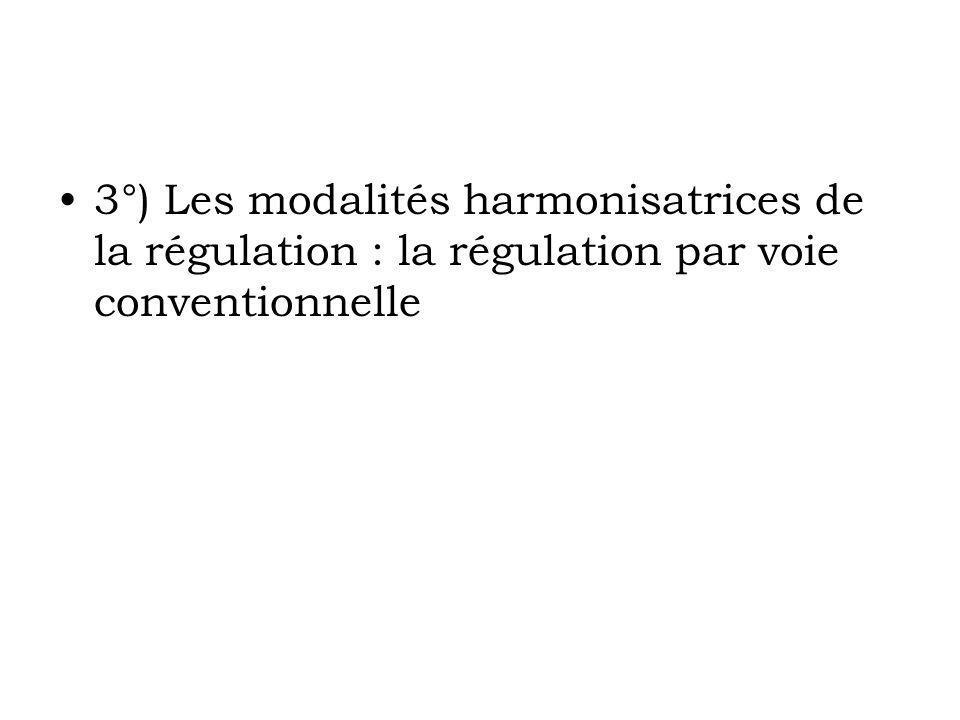 IV Un dispositif de régulation démocratique .A) Un dispositif légal de régulation .