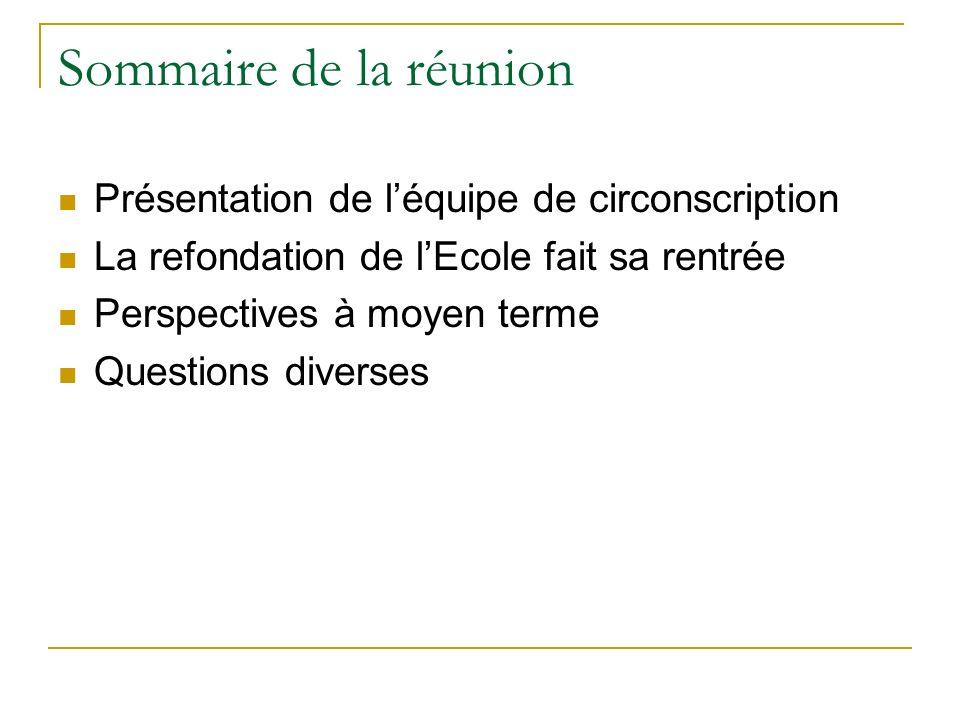 Présentation de léquipe Secrétariat CPC Eps Ertice de circonscription Animatrice Langues vivantes Membres du Rased