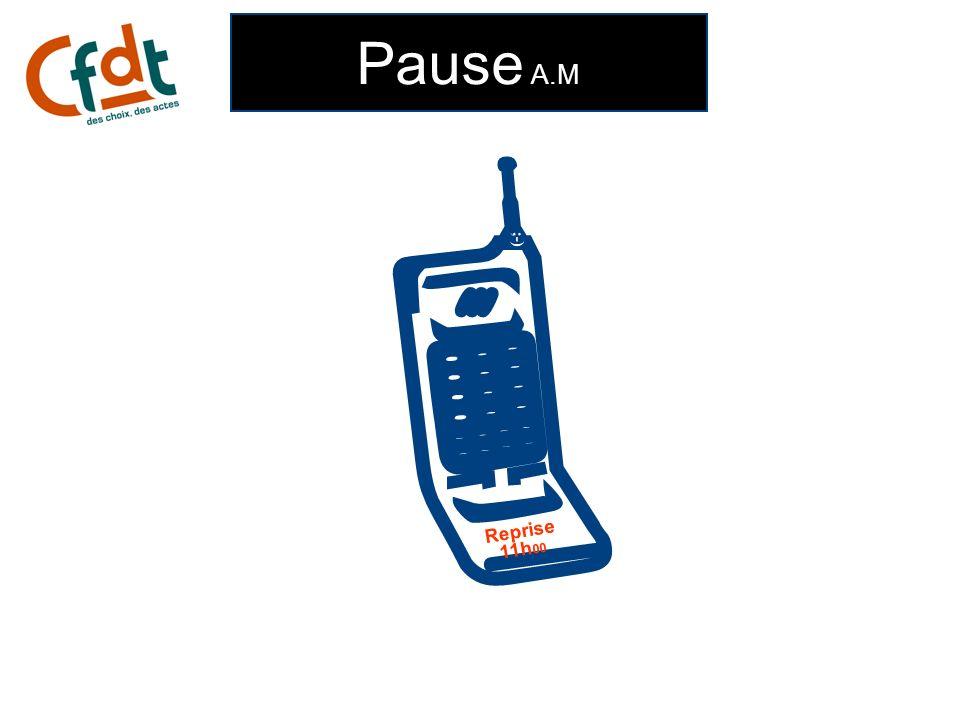Pause A.M ;-) Reprise 11h 00