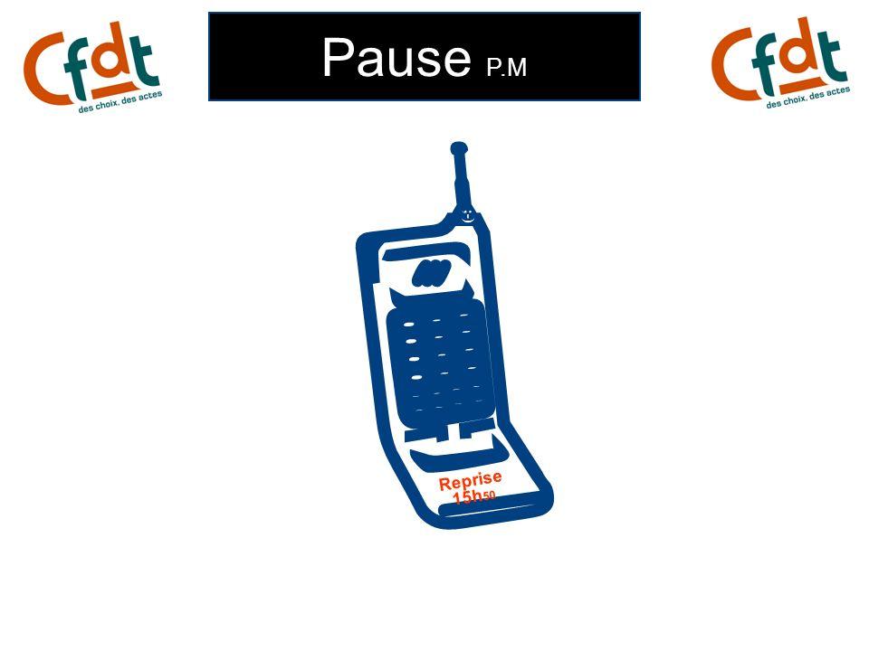Pause P.M ;-) Reprise 15h 50
