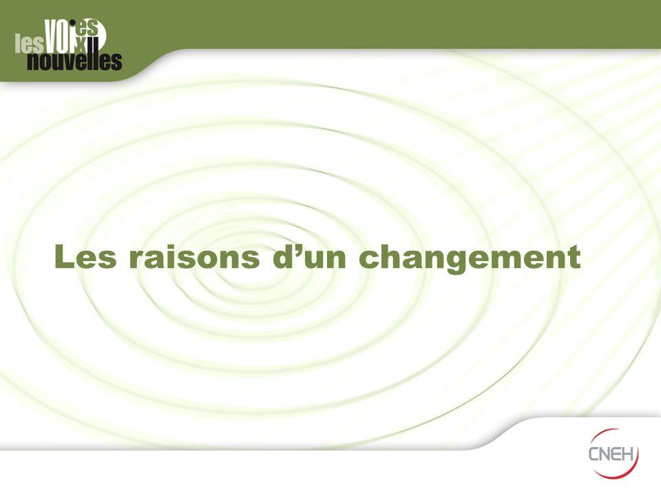 Les raisons dun changement