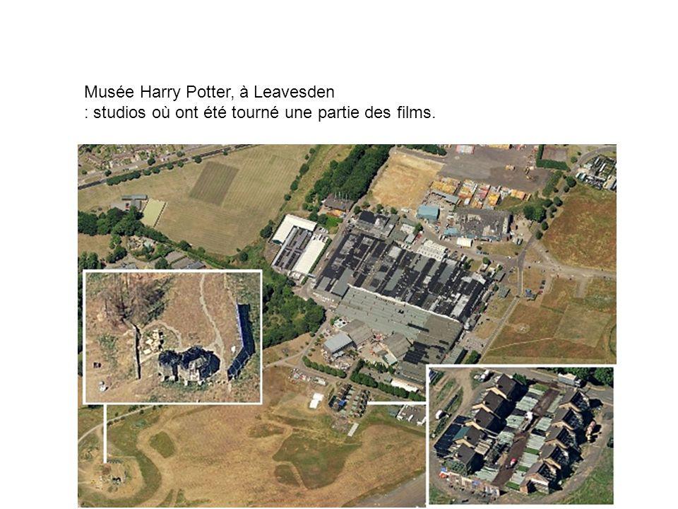 Musée Harry Potter, à Leavesden : studios où ont été tourné une partie des films.