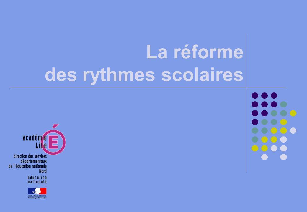 2 Réforme des rythmes à l école primaire : l avis du professeur François Testu, chronopsychologue et du professeur Marcel Rufo, pédopsychiatre.