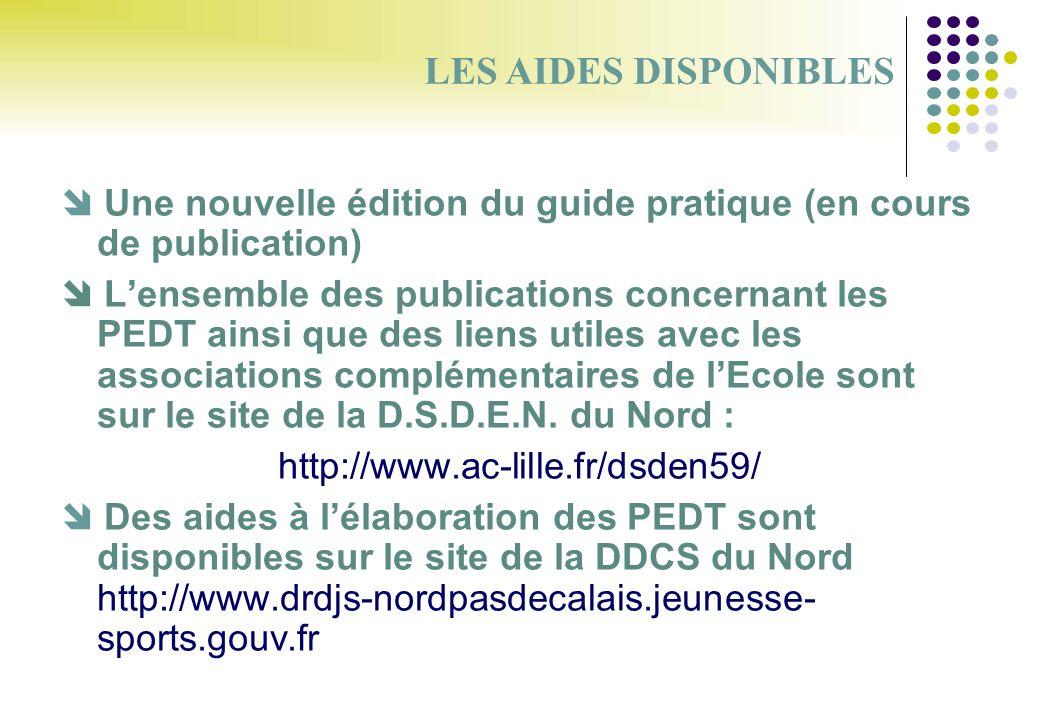 Une nouvelle édition du guide pratique (en cours de publication) Lensemble des publications concernant les PEDT ainsi que des liens utiles avec les as