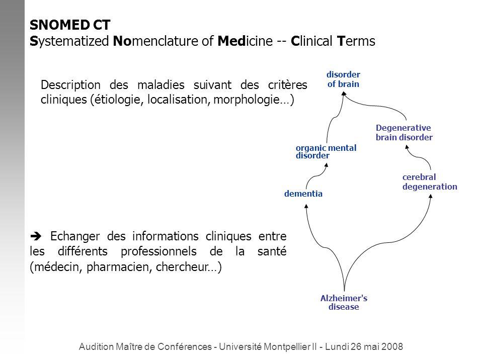 Audition Maître de Conférences - Université Montpellier II - Lundi 26 mai 2008 Trois axes complémentaires : 1.