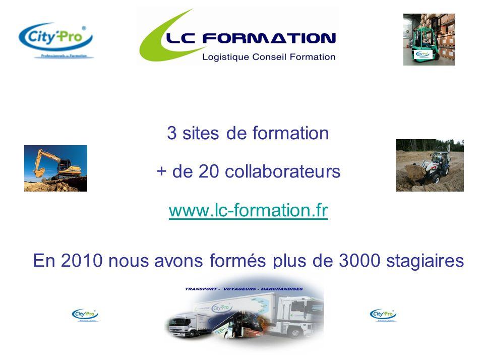 Logistique Formations Continues et Spécialisantes C.A.C.E.S.